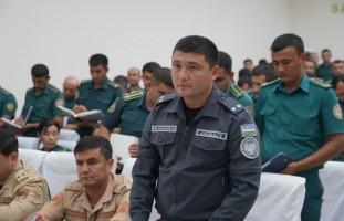 Ichki ishlar vaziri o'rinbosari polkovnik Bekmurod Abdullayevning Buxoro viloyatiga xizmat…